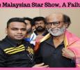 Was Malaysian Star Show, A Failure?