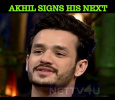 Akhil Signed His Next!