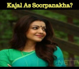 Kajal As Soorpanakha? Tamil News