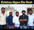 Krishna Signs His Next! Tamil News