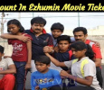 Discount In Ezhumin Movie Tickets! Tamil News