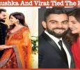 Anushka Sharma And Virat Kohli Tied The Knot!