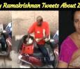 Lakshmy Ramakrishnan Tweets About Zomato!