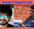 Sundar C Supports Jai! Tamil News