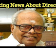Shocking! Director K Balachander's Properties In Auction!