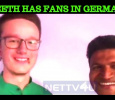 Puneeth's German Fan Sings A Song For Him!