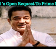 Kamal Haasan's Open Request To Prime Minister! Tamil News