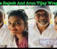 Aishwarya Rajesh And Arun Vijay Wrap Up Their Part In CCV! Tamil News