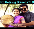 Karthi Gets 125 Screens In Kerala For KKS!