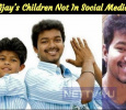 Vijay's Children Not In Social Media! Tamil News