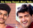 Vijay Son Sanjay Reveals About Thala Ajith! Tamil News