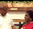 Dr Tamilisai Meets GUV Banwarilal Purohit!