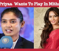 Lakshmi Priyaa Chandramouli Wants To Play In Mithali Biopic!