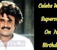 Celebs Wish Superstar On His Birthday!