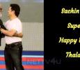 Sachin Wishes Superstar! Happy Birthday Thalaiva…