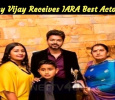Thalapathy Vijay Receives IARA Best Actor Award!