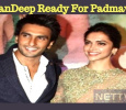 Deepika And Ranveer Singh Ready For Padmavati!