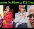 Kavithalayaa Clarifies The Rumor On K Balachander!