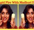 Rapid Fire With Madhuri Dixit! Tamil News