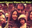 Jhanvi Kapoor Misses Her Mom! Tamil News
