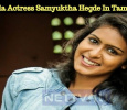 Kannada Actress Samyuktha Hegde Makes Her Debut In Tamil! Tamil News