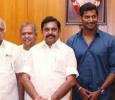 Vishal And Team Are Discussing With Edappadi Palaniswami! Tamil News