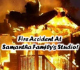 Fire Accident At Samantha Family's Studio! Tamil News