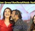 Kajal Aggarwal Fans Spread BanChotaKNaidu Hashtag! Tamil News
