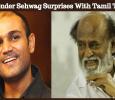 Virender Sehwag Surprises With Tamil Tweet!