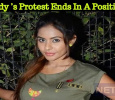Sri Reddy's Protest Ends Up In A Positive Note! Telugu News