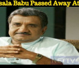 Kalasala Babu Passed Away At 68! Malayalam News