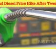 Petrol And Diesel Price Hike After Twenty Days!