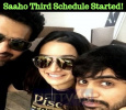 Saaho Third Schedule Started!