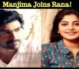 Manjima Mohan To Pair Rana Daggubati! Tamil News