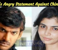Vishal's Angry Statement Against Chinmayi! Tamil News