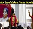 Madam Jayalalithaa Statue Unveiled! Tamil News
