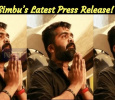 Simbu's Latest Press Release! Tamil News