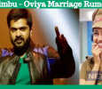 Simbu Speaks About His Marriage With Oviya! Tamil News