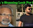 Simbu's Stunning Look For Mani Ratnam's Chekka Chivantha Vaanam! Tamil News