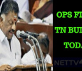 OPS Files Tamilnadu Budget!