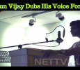 Arun Vijay Dubs His Voice For CCV! Tamil News