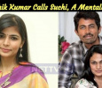 Chinmayi Questioned! Karthik Kumar Calls Suchi, A Mentally Ill!