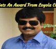 Vivek Gets An Award From Loyola College! Tamil News
