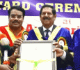 Honorary Doctorate Presented To Multifaceted Personality BK Srinivas