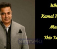Why Kamal Made This Tweet?