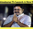 TTV Dhinakaran To Launch A New Party! Tamil News