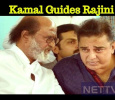 Rajini To Follow Kamal's Path!
