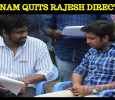 Santhanam Quits Rajesh Project?
