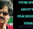 Vivek Raises His Voice For The Film Industry Strike!