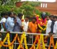 Actor Jeeva At Kamaraj Memorial House! Tamil News
